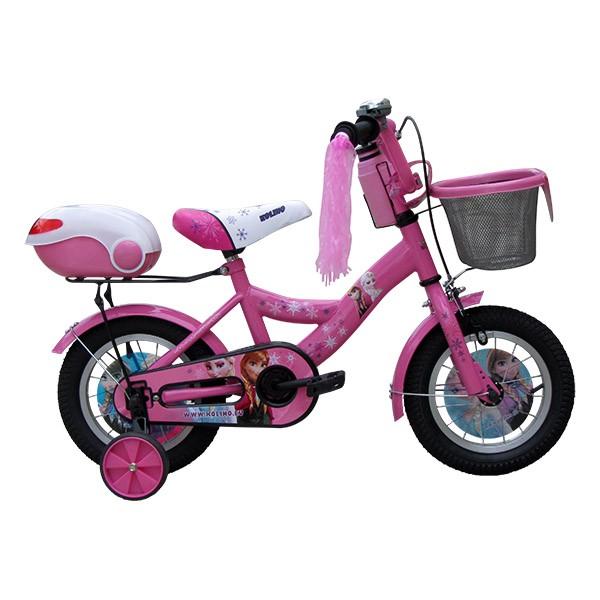 """Детско колело Carrera 12"""" + подарък комплект каска с наколенки"""