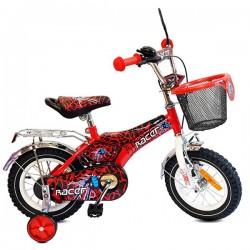 "Детско колело Racer 16"" + подарък комплект каска с наколенки"