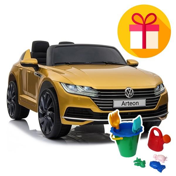 Детска акумулаторна кола Volkswagen Arteon + подарък