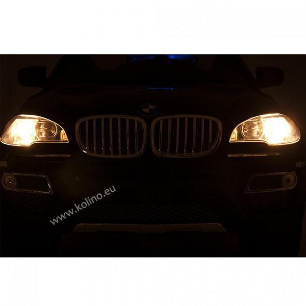 Детски акумулаторен джип BMW X6 SUV металик
