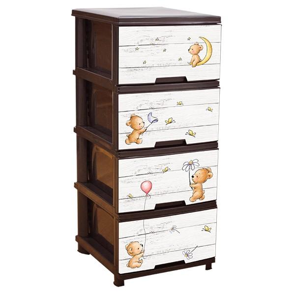 Детски шкаф за съхранение Мече