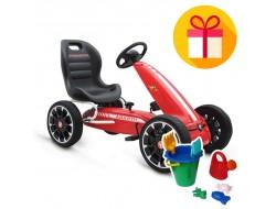 Детски картинг с педали ABARTH + подарък