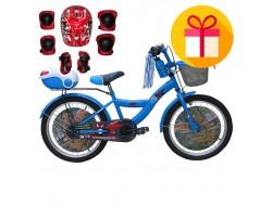 """Детско колело Carrera 20"""" + подарък комплект каска с наколенки"""