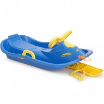 Children sled with steering