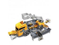 SUPER STORAGE Строителен камион - паркинг с 2 колички