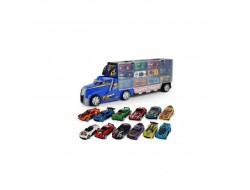 INFINITE POWER TRUCK камион контейнер с 12 бр. метални колички