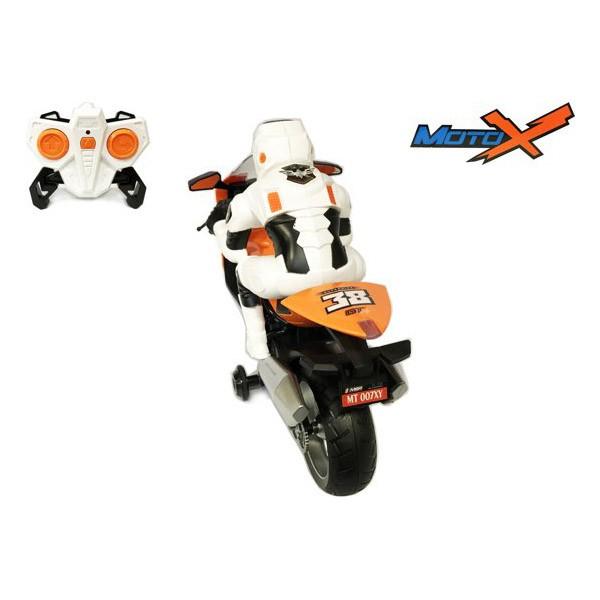 Детска играчка състезателен мотор с дистанционно управление